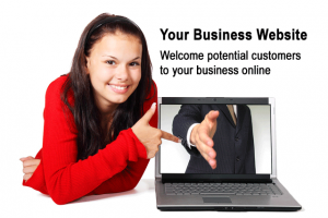 Your Business Website: Welcome potential customers to your business online.
