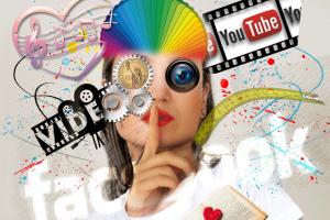 Profile photos for social media