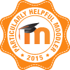 Badge: Particularly Helpful Moodler 2015
