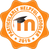 Badge: Particularly Helpful Moodler 2016