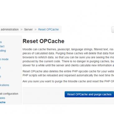 Download: Moodle Reset OPCache Plugin – Open Source