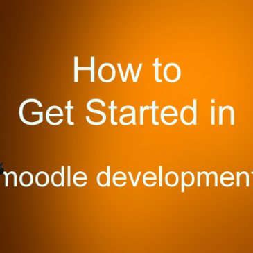 Getting started in Moodle development