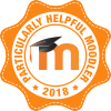 Badge: Particularly helpful Moodler 2018