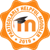 Badge: Particularly helpful Moodler 2019