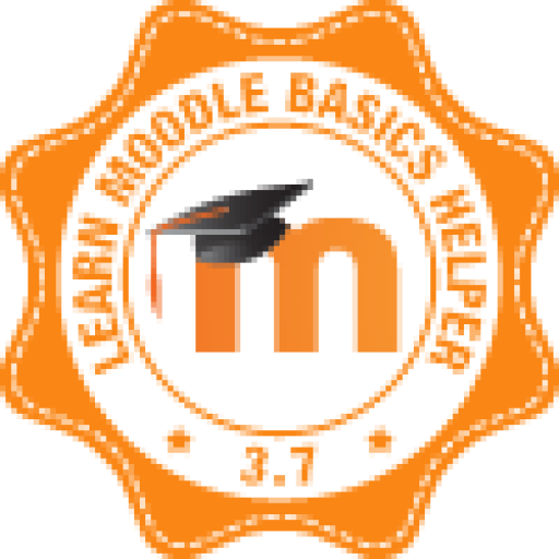Badge: Learn Moodle Basics helper