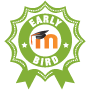 Badge: Early Bird